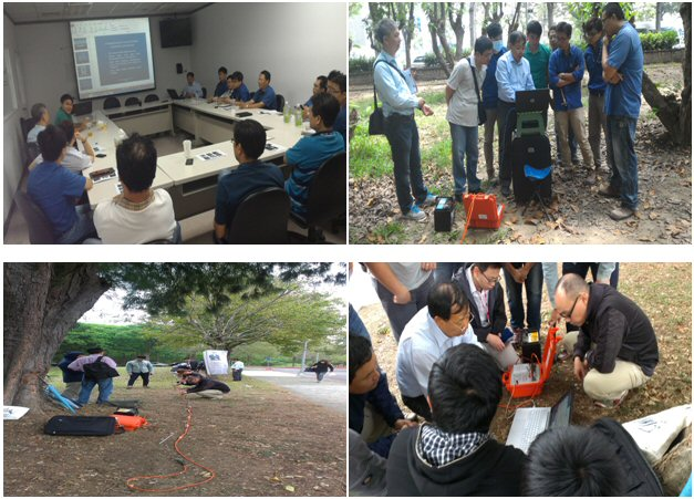 ZZ Resistivity Imaging Pty. Ltd. conducted product demonstration and training of FlashRES-