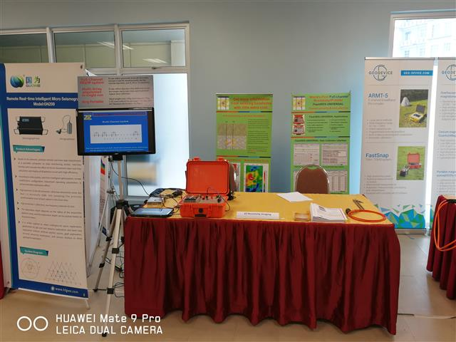 ZZ Resistivity Imaging has attended the EAGE-GSM SECOND ASIA PACIFIC MEETING in Kuala Lump